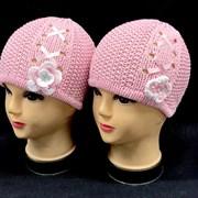 ambra шапка  одинарная вязка (р.46-48)
