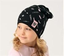 .AJS шапка 38-124 одинарн.вязка (р.52-54)