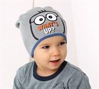 .AJS шапка 38-074 одинарн.вязка (р.50-52)