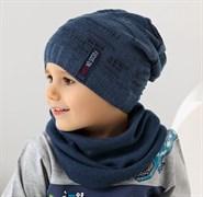 .AJS шапка 38-193 одинарн.вязка (р.52-54)