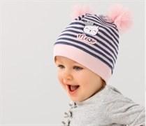 .AJS шапка 38-028 одинарный трикотаж (р.44-46)