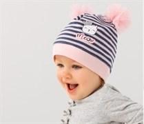 .AJS шапка 38-028 одинарный трикотаж (р.48-50)