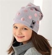 .AJS шапка 38-097 одинарн.трикотаж (р.52-54)