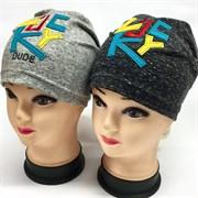 Fido модель 995 шапка один.трикотаж (р.46-48,50-52)