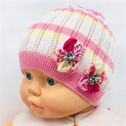 Barbaras модель BF 43/0 шапка ажурная вязка (р.44-46)