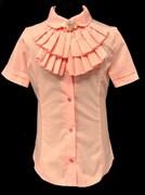 блузка ЛЮТИК модель 20192р подросток кор.рукав (размер30,32,34,36,38)