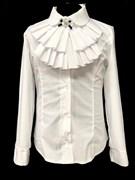 блузка ЛЮТИК модель 20192 подросток дл.рукав (размер128,134,140,146,152)