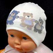 Milli модель медвежата  шапка (р.40-42)