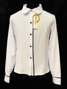 Catherine блузка дл.рук. белая (р.128-158)