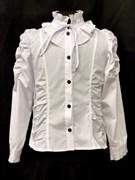MAGICjunior модель 133 блузка дл.рук. в уп.6шт.(рост128-158)