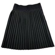 """юбка ТехноТкань модель """"плиссе"""" черная (р.32-40)"""