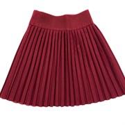 "юбка ТехноТкань модель ""плиссе"" бордо (р.32-40)"