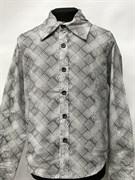 рубашка для мальчика дл.рук. клетка (р.11,15,17)