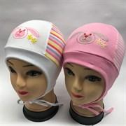 ARDI шапка для девочки с завязками (р.48-50)