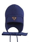 AGBO комплект 2408 Amis шапка с утеплит.подкл.хлопок+шарф (р.52-54)