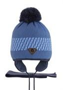 AGBO комплект 2426 Istan1 шапка с утеплит.подкл.хлопок+шарф (р.50-52)