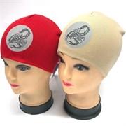 BG шапка для мальчика двойной трикотаж (р. 46-48)