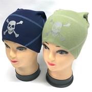 BG шапка для мальчика двойной трикотаж (р. 48-50)