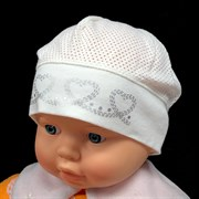 MARIKA шапка ML-070 Wiszace Serduszka сетка (р.48)
