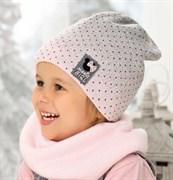 .AJS шапка 38-451 подкл.флис (р.52-54)