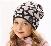 .AJS шапка 38-503 подкл.флис (р.52-54)
