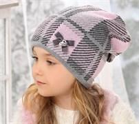 .AJS шапка 38-512 двойная вязка (р.52-54)