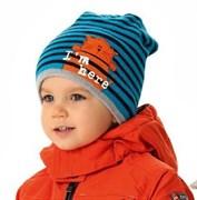 .AJS шапка 38-470 шапка подкл.флис (р.52-54)