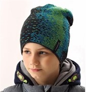 .AJS шапка 38-603 шапка двойная вязка (р.52-54)