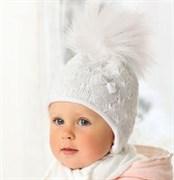 .AJS комплект 38-426 шапка подкл.флис + шарф (р.46-48)