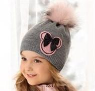 .AJS шапка 38-497 подкл.флис (р.50-52)