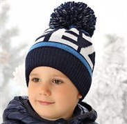 .AJS шапка 38-517 шапка подкл.флис (р.50-52)