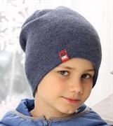 .AJS шапка 38-596 шапка двойная вязка (р.52-54)