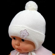 Barbaras модель AV 814/ME ISOSOFT шапка (р.36-38) молочный