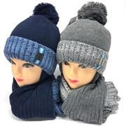 Barbaras к-т модель AV 192/ME ISOSOFT шапка (р50-52) +шарф