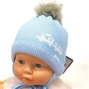 GRANS шапка A 982ST шапка с утеплителем подклад хлопок (р.38-40)