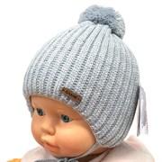 GRANS шапка A 977ST шапка с утеплителем подклад хлопок (р.36-38)