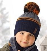 .AJS комплект 38-520 шапка подкл.флис+снуд (р.52-54)