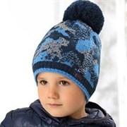 .AJS шапка 38-528 шапка подкл.флис (р.52-54)