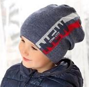 .AJS шапка 38-538 шапка подкл.флис (р.52-54)