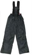 Milli брюки демисезонные, подклад флис арт. 6240 серо-черный (р.110.116.122.128.134)