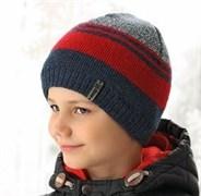 .AJS шапка 38-579  подкл. флис  (р.52-54)