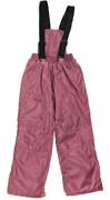Milli брюки демисезонные, подклад флис арт. 6240 т.розовый (р.110.116.122.128.134)