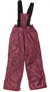 Milli брюки демисезонные, подклад флис арт. 6240 бордо (р.110.116.122.128.134)