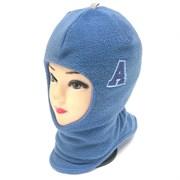 Шлем флисовый для мальчика подклад хлопок (р.48-50)