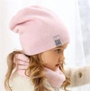 .AJS комплект 38-495 шапка двухсторонняя+снуд (р.54-56)