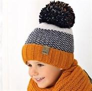 .AJS комплект 38-515 шапка подкл.флис+снуд (р.52-54)