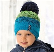 .AJS шапка 38-486 шапка подкл.флис (р.52-54)