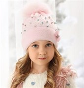 .AJS шапка 38-507 двойная вязка (р.52-54)