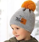 .AJS шапка 38-518 шапка подкл.флис (р.50-52)