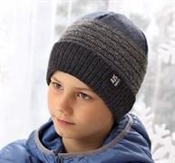 .AJS шапка 38-585 шапка подкл. флис (р.52-54)
